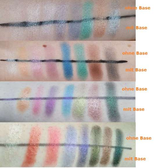 Makeup Revolution Mermaids Forever Ultra Eyeshadows Swatches