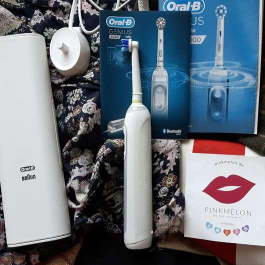 <strong>Oral-B</strong> GENIUS 9000 White Elektrische Zahnbürste