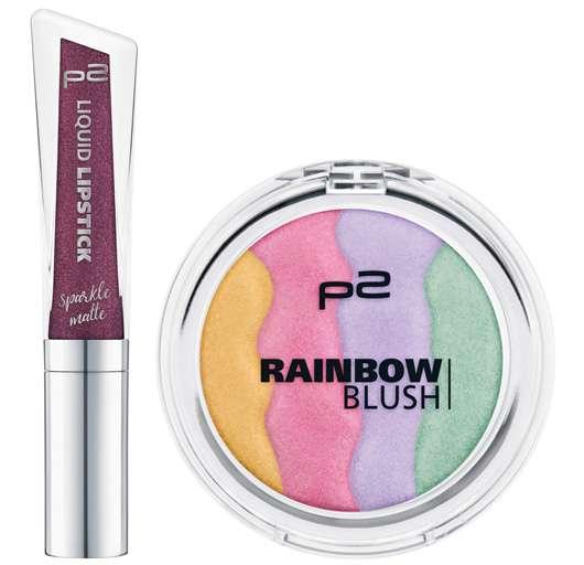 p2 cosmetics Produkte für Lippen und Teint