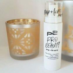 Produktbild zu p2 cosmetics perfect face prep + fix spray