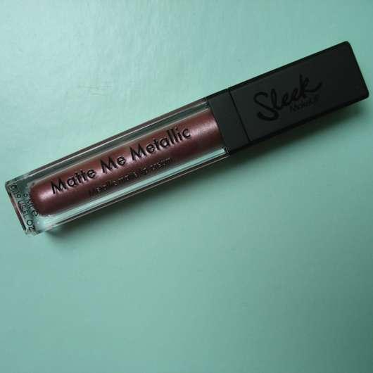 Sleek MakeUP Matte Me Metallic, Farbe: 1042 Rusted Rose Design