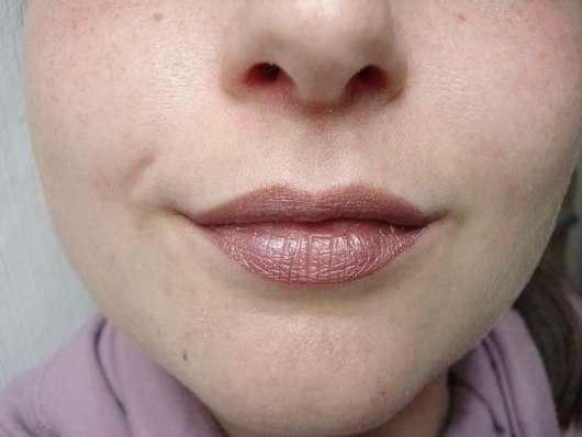 Sleek MakeUP Matte Me Metallic, Farbe: 1042 Rusted Rose Lip Cream pur aufgetragen, vollständig getrocknet