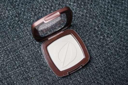 geöffneter Tiegel des Terra Naturi Mono Eyeshadow, Farbe: 01 shell