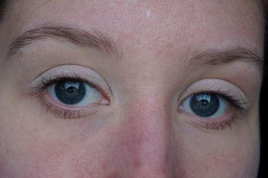 Augen geschminkt mit dem Terra Naturi Mono Eyeshadow, Farbe: 01 shell