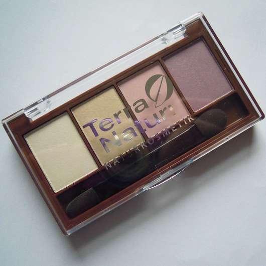 <strong>Terra Naturi Naturkosmetik</strong> Quattro Eyeshadow - Farbe: 04 Ice Cream