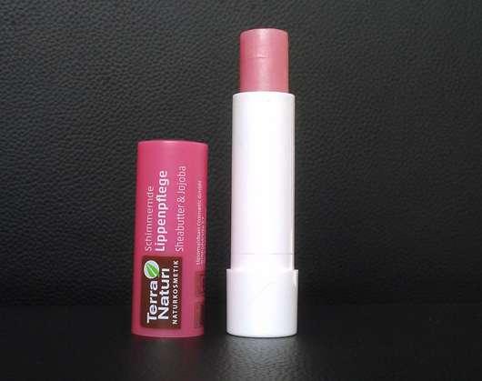Terra Naturi Schimmernde Lippenpflege Sheabutter & Jojoba Stiftmine
