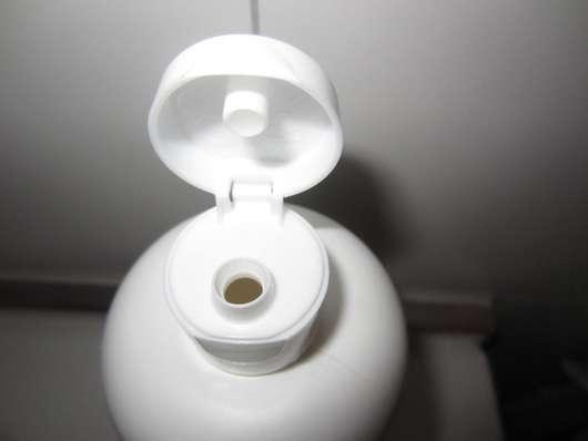 Vitalife Olivenbutter Pflegedusche Dosieröffnung