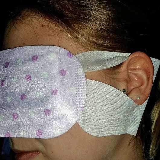 IVY Hot Eyes Steam - Wärmende Augenmaske - Halterung am Ohr