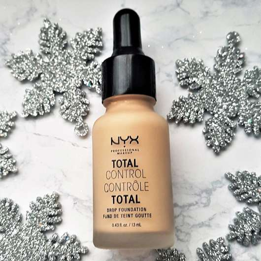 <strong>NYX</strong> Total Control Drop Foundation - Farbe: 06 Vanilla