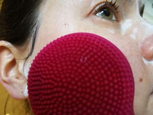 Anwendung der B. Kettner Gesichtsbürste