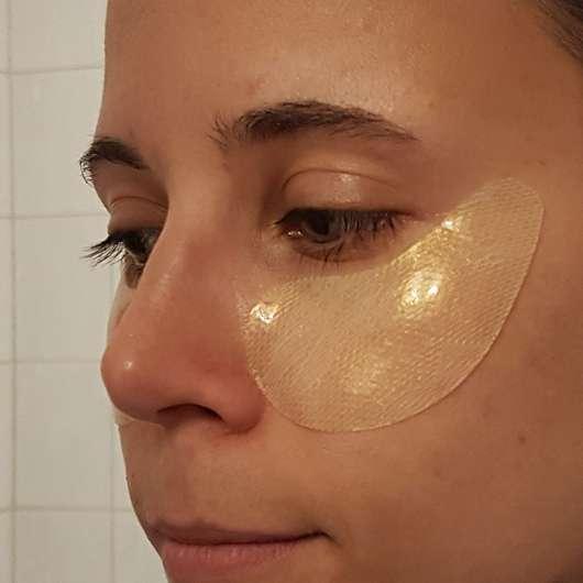 Chiara Ambra Straffende Hydrogel Augenmaske Anwendung