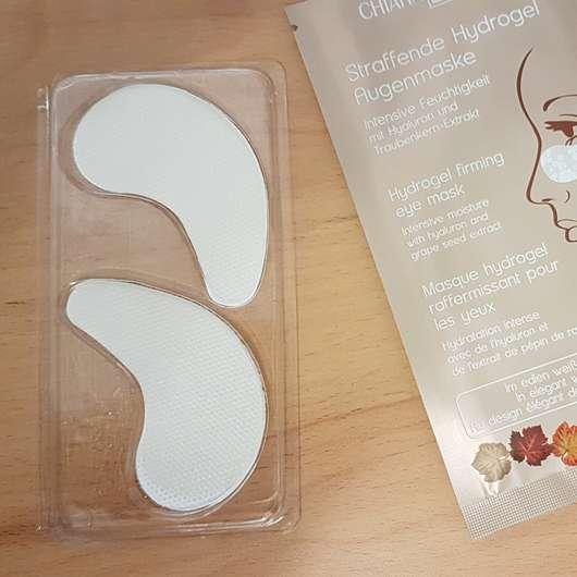 Chiara Ambra Straffende Hydrogel Augenmaske Produkt