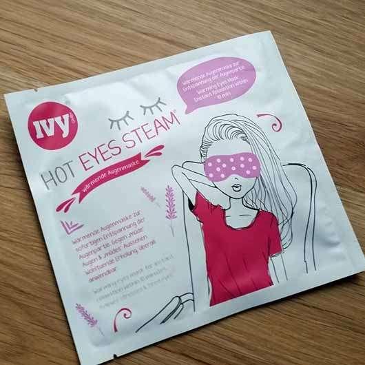IVY Hot Eyes Steam - Wärmende Augenmaske - Sachet