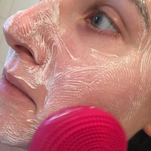 B. Kettner VisoVibe Komplettset - Anwendung im Gesicht