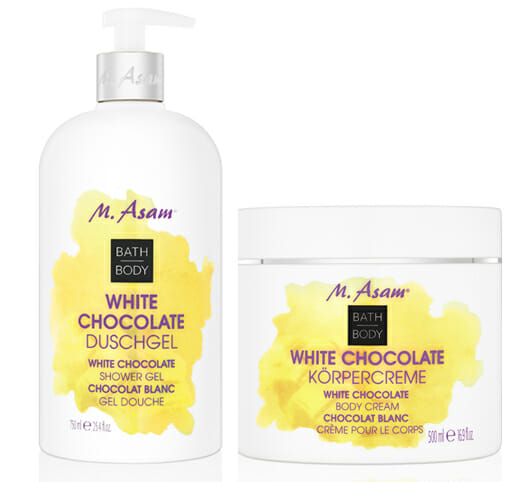 M. Asam White Chocolate Duschgel + Körpercreme