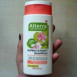 Produktbild zu Alterra Naturkosmetik Aufbau & Kraft Shampoo Kaktus & Bio-Weidenröschen