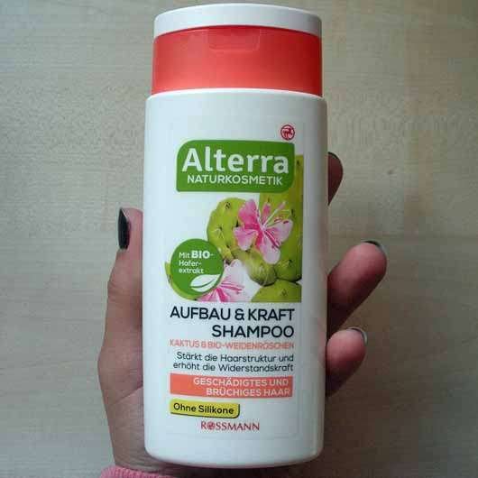 Alterra Aufbau & Kraft Shampoo Kaktus & Bio-Weidenröschen - Flasche