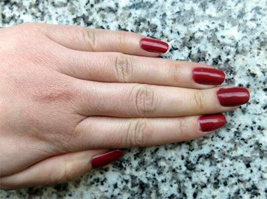 lackierte Nägel mit ANNY Nagellack, Farbe: 147 kiss you