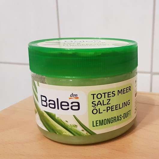 Balea Totes Meer Salz Öl-Peeling Lemongras-Duft Tiegel