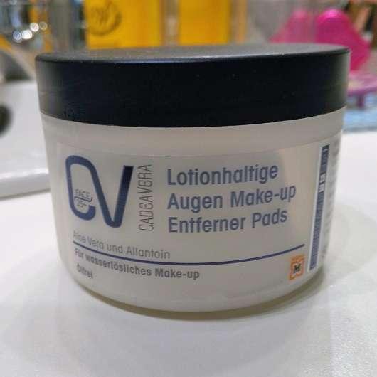 <strong>CV CadeaVera Face 25+</strong> Lotionhaltige Auge Make-up Entferner Pads (Ölfrei)