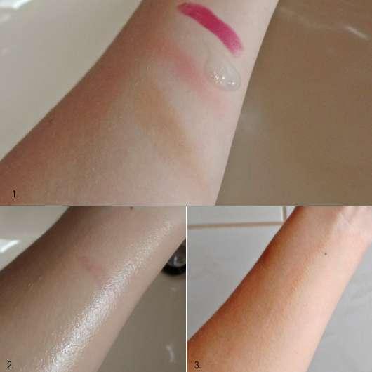 Make-up Entfernung mit der DERMAPLAN Wash Balance Milde Waschlotion