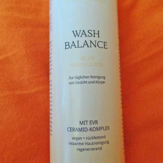 Nahaufnahme der DERMAPLAN Wash Balance Milde Waschlotion