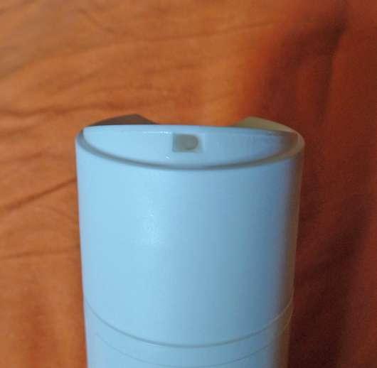 Dosieröffnung der DERMAPLAN Wash Balance Milde Waschlotion