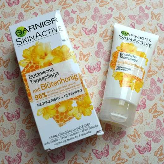 <strong>Garnier SkinActive</strong> Botanische Tagespflege mit Blütenhonig
