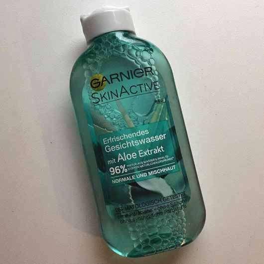 <strong>Garnier SkinActive</strong> Erfrischendes Gesichtswasser mit Aloe Extrakt