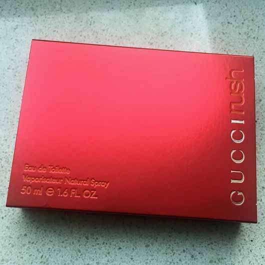 Gucci Rush Eau de Toilette - Verpackung