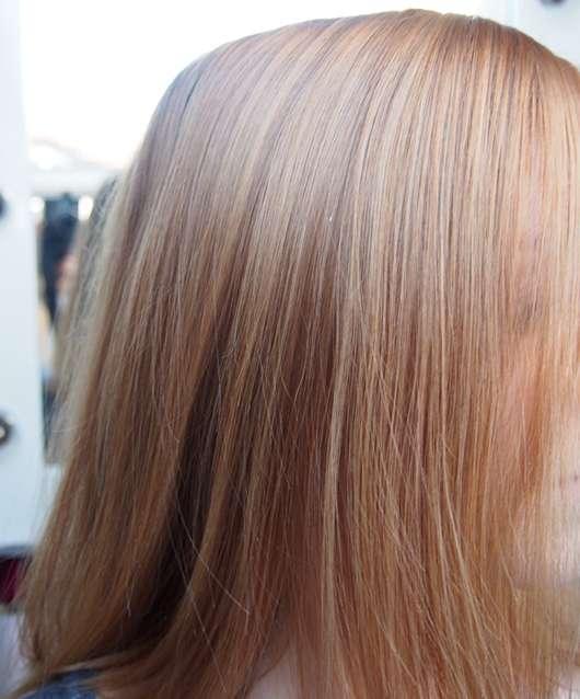 Haare nach der Haarwäsche