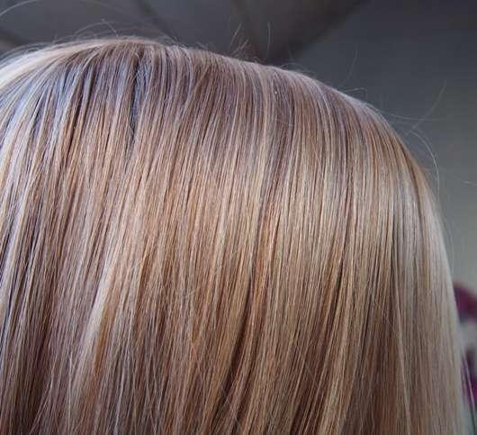 Haare nach ein paar Stunden