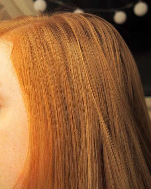 Haare abends, schon leicht fettig am Ansatz
