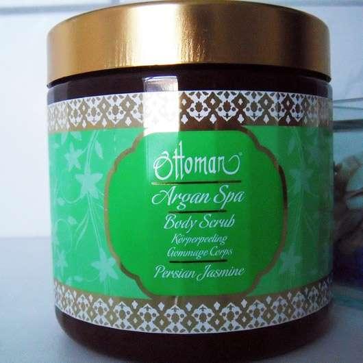 Ottoman Argan Spa Body Scrub Persian Jasmine - Tiegel