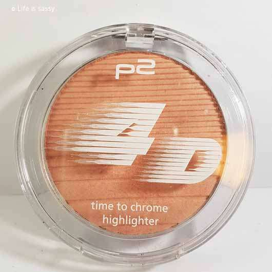 p2 4D time to chrome highlighter, Farbe: 010 beaming lightness (LE) - Verpackung