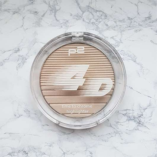 <strong>p2 cosmetics</strong> 4D time to chrome highlighter – Farbe: 020 gleaming highlight (LE)