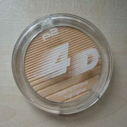 Produktbild zu p2 cosmetics 4D time to chrome highlighter – Farbe: 030 reflecting brilliance (LE)