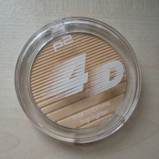 p2 4D time to chrome highlighter, Farbe: 030 reflecting brilliance (LE)
