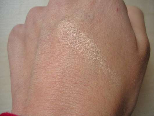 Swatch des p2 4D time to chrome highlighter, Farbe: 030 reflecting brilliance (LE)