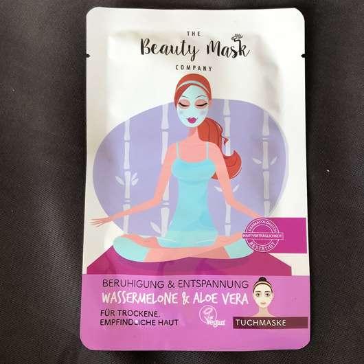"The Beauty Mask Company Beruhigung & Entspannung Tuchmaske ""Skin Yoga"" - Sachet"