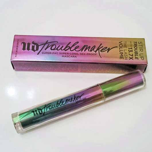 Urban Decay Troublemaker Mascara, Farbe: Black - Verpackung