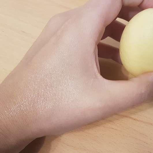 Konsistenz des CMD Pflegebutter Hand Ei Zitrus