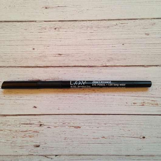 L.O.V BestDressed 12H Long-Wear Eye Pencil, Farbe: 200 Marvellous Onyx