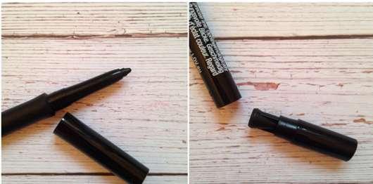 Stiftmine und Spitzer des L.O.V BestDressed 12H Long-Wear Eye Pencil, Farbe: 200 Marvellous Onyx