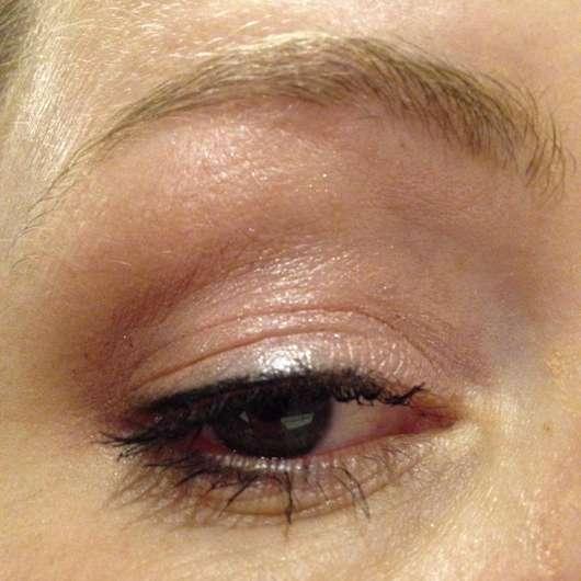 Fertiges AMU nach ca. 12h - L.O.V BestDressed 12H Long-Wear Eye Pencil, Farbe: 200 Marvellous Onyx