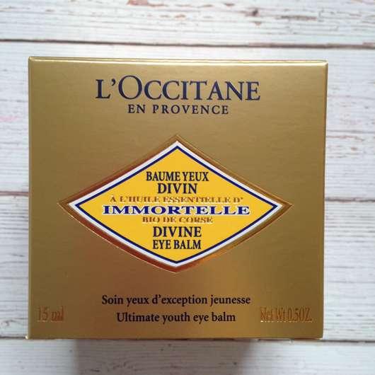 L'Occitane Immortelle Divine Augenbalsam