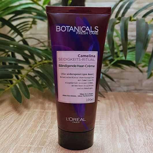 <strong>L'ORÉAL PARiS Botanicals Fresh Care</strong> Camelina Seidigkeits-Ritual Bändigende Haar-Crème