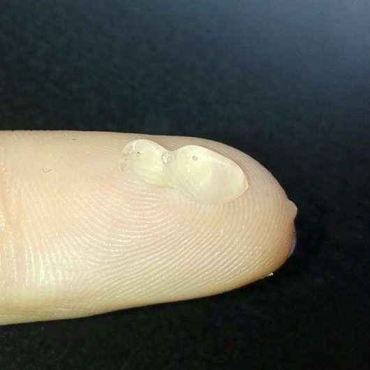 Konsistenz des M. Asam Better Skin Anti-Pickel Gels
