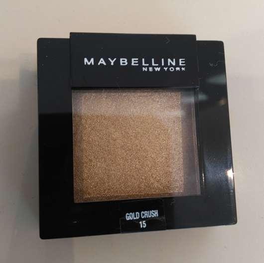 Maybelline Color Sensational Mono Lidschatten, Farbe: 15 Gold Crush