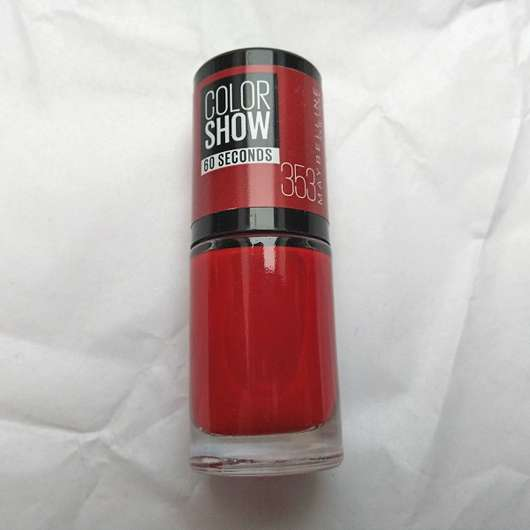 Maybelline Colorshow Nagellack, Farbe: 353 Red